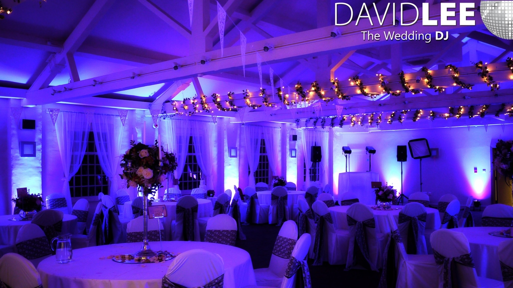 Yorkshire wedding dj david lee passionate about music yorkshire wedding lighting hire junglespirit Image collections