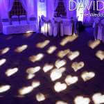 White Hearts for Cheshire Wedding