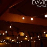 Festoon Lighting for your wedding