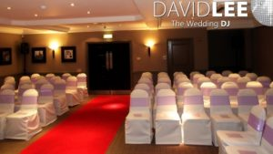Village Hotel Cheadle Ceremony DJ