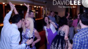 Wedding Guests Dancing at Davyhulme Golf Club Wedding