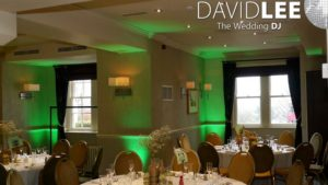 Wedding Lighting Alderley Edge Hotel