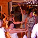 Bustin' some moves from this cheshire Bride