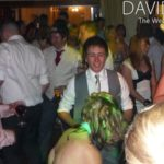 Groom Dancing at Northop Hall