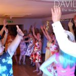 Hands in the air at Fishermans Retreat