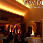 Red Hall Hotel Wedding Lighting