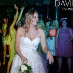 Throwing the bouquet at Rochdale Town Hall