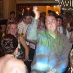 Wedding Guests dancing at Northop Hall