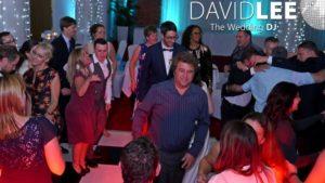everyone dancing at Place Aparthotel Wedding