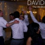 Stags Dancing at Lancahsire Wedding