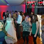 Bride and guests dancing at Castlefield Rooms