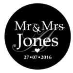 Mr & Mrs Monogram 17