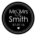 Mr & Mrs Monogram 18