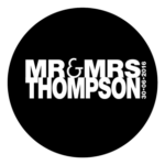 Mr & Mrs Monogram 20