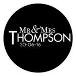 Mr & Mrs Monogram 21