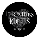 Mr & Mrs Monogram 22