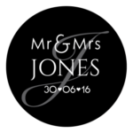 Mr & Mrs Monogram 25