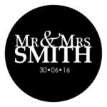 Mr & Mrs Monogram 26