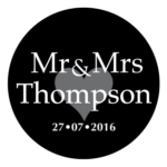 Mr & Mrs Monogram 28