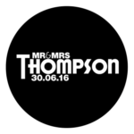 Mr & Mrs Monogram 30