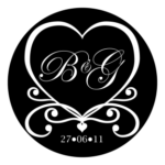 Wedding Monogram Initial 1