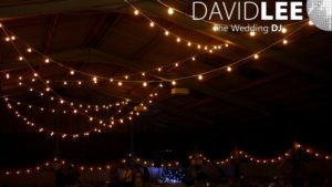 Festoon Lighting for Upperwood House Barn
