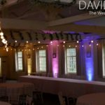 Festoons and uplighting