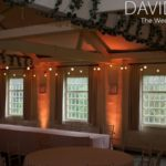 Festoonsand uplighting wedding lighting