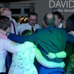 Group hug at Windy Harbour Wedding