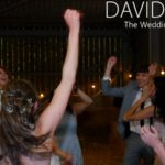 Gving it everythgin at Saddleworth Wedding