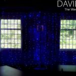 Naked Backdrop with Blue Fairylights