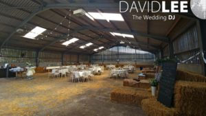 The Empty Barn before setting up