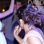 Wedding Guests dancing at Upperwood House Barn