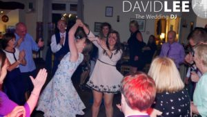 Windy Harbour Wedding Guests Dancing
