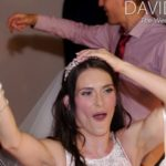 Bride dancing at Hyde Bank Farm Stockport