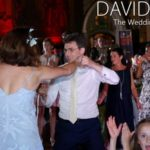 Groom Dancing the night away