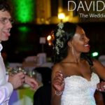 Happy Bride & groom at Rochdale Town Hall Great Hall Wedding