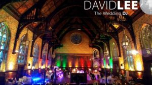 Rochdale Town Hall Great Hall Uplighting