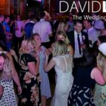 Bride and guests dancing at Worsley Wedding