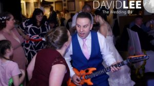 Rocking out at Brookdale Golf Club Wedding