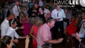 Saddleworth Wedding Guests Dancing the night away