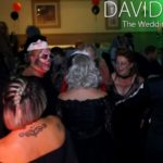 Creat Court Halloween Themed Wedding