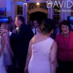 Father and daughter dancing at wedding