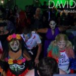 First Dance Thriller at Halloween Wedding