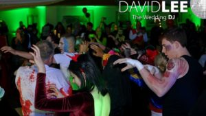 Thriller routine for First Dance at Halloween Wedding