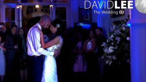 First Dance at Lancaster Wedding