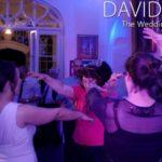 Floor full at Leighton Hall wedding