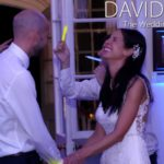 Lancashire wedding couple having fun on the dance floor