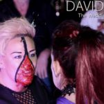 Zipper Face at Wedding